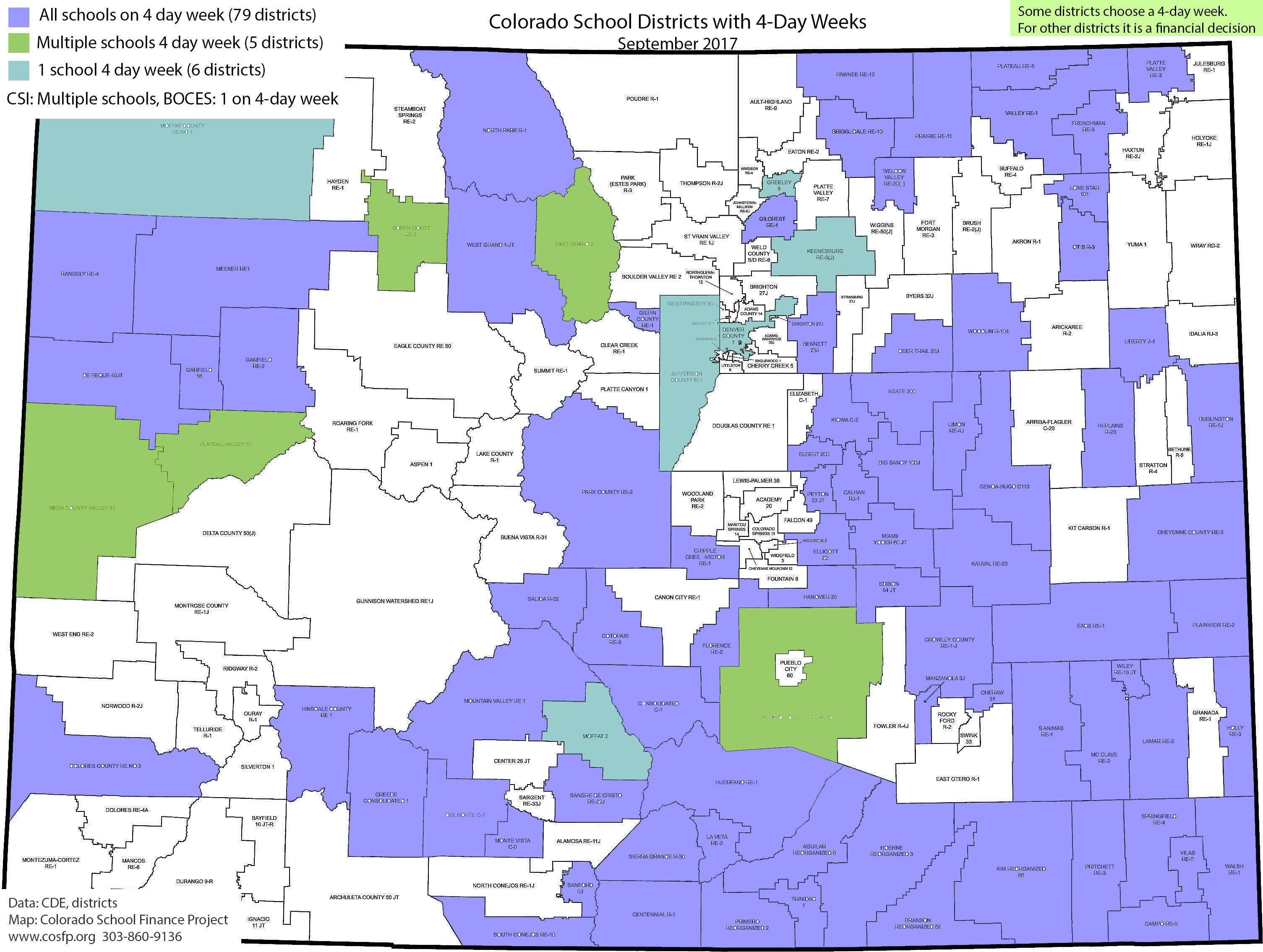 Colorado School District Maps - Colorado School Finance Project